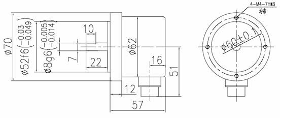 旋转编码器|光电编码器zsc70c8系列编码器接线知道商